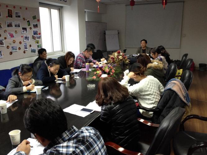 2013年11月29日集团举行品牌专员培训