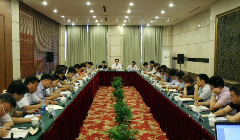 2014年7月5日集团召开7月份经济工作会议