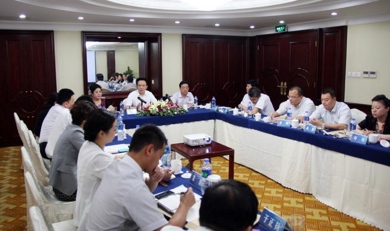 2014年7月10日集团在新协通国际大酒店召开二届十四次董事会暨股东代表大会