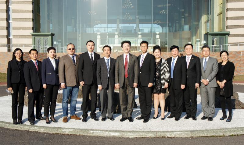 2015年4月23日集团在日本召开二届十六次董事会